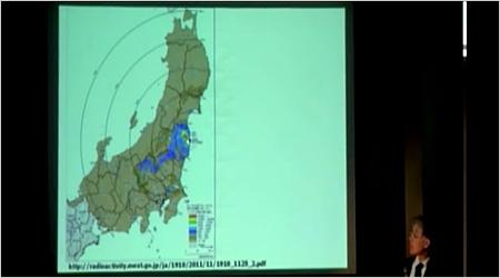 東日本の汚染